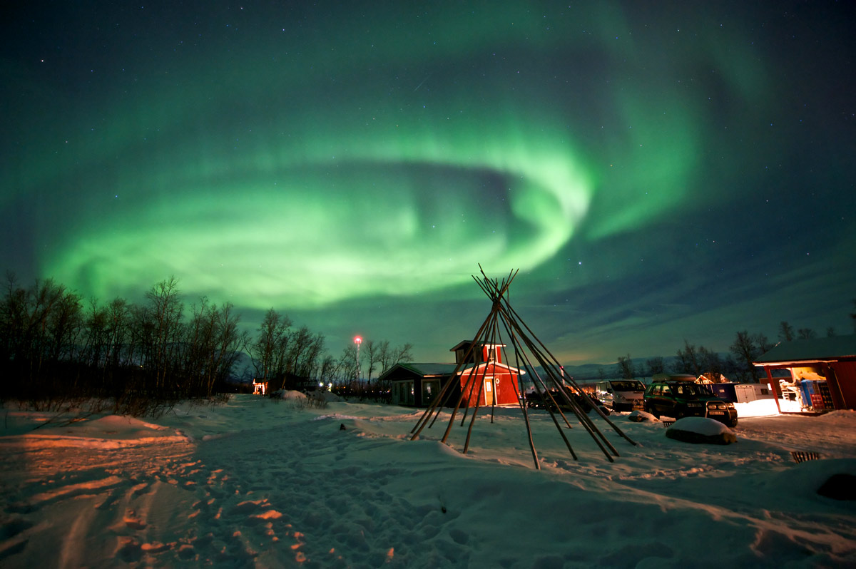 Kuzey Işıkları'nın Mitolojisi