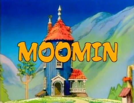 İngiltere'de yayınlanan Moomin çizgi dizisi