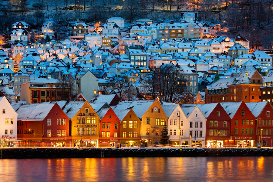 Bergen-Norvegiya
