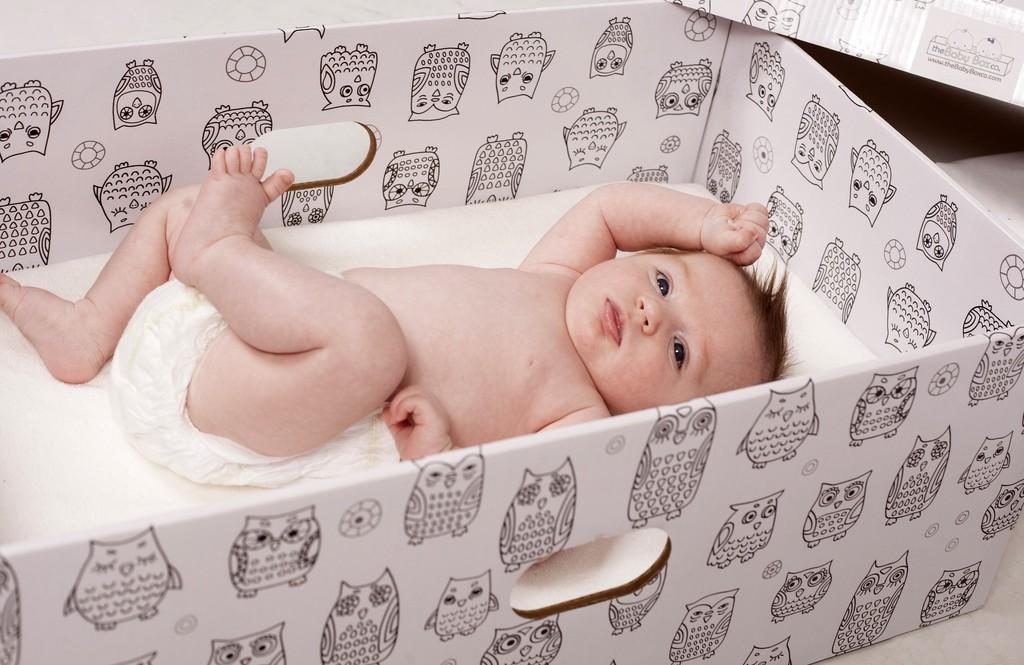 Finlandiye Bebek Kutuları - Nordik Simit