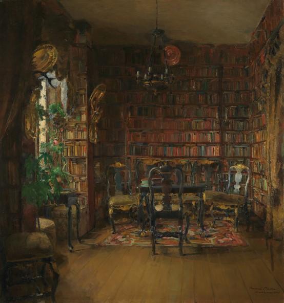 The Library of Thorvald Boeck (Thorvald Boeck'in Kütüphanesi) (1902)
