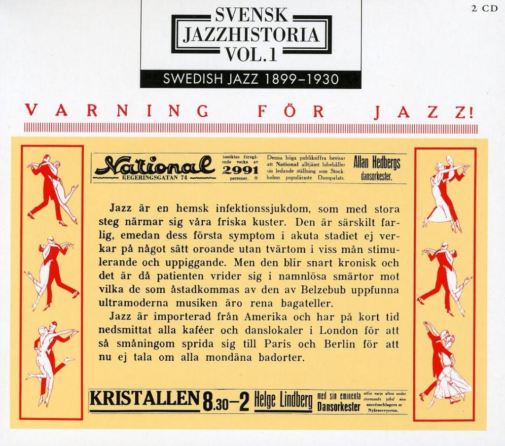 İsveç Caz Müziğin Tarihi 1 - 1899-1930
