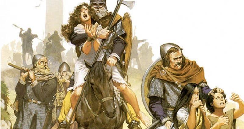 Vikingler insan kaçaklığı yaparken