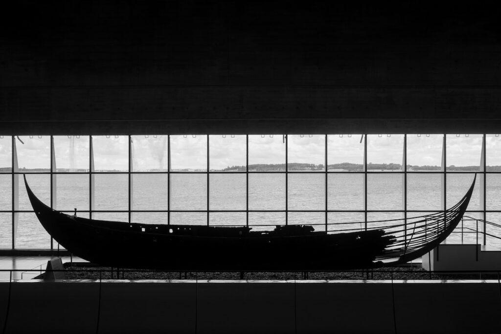 Vikingler uzun gemiler yapardı
