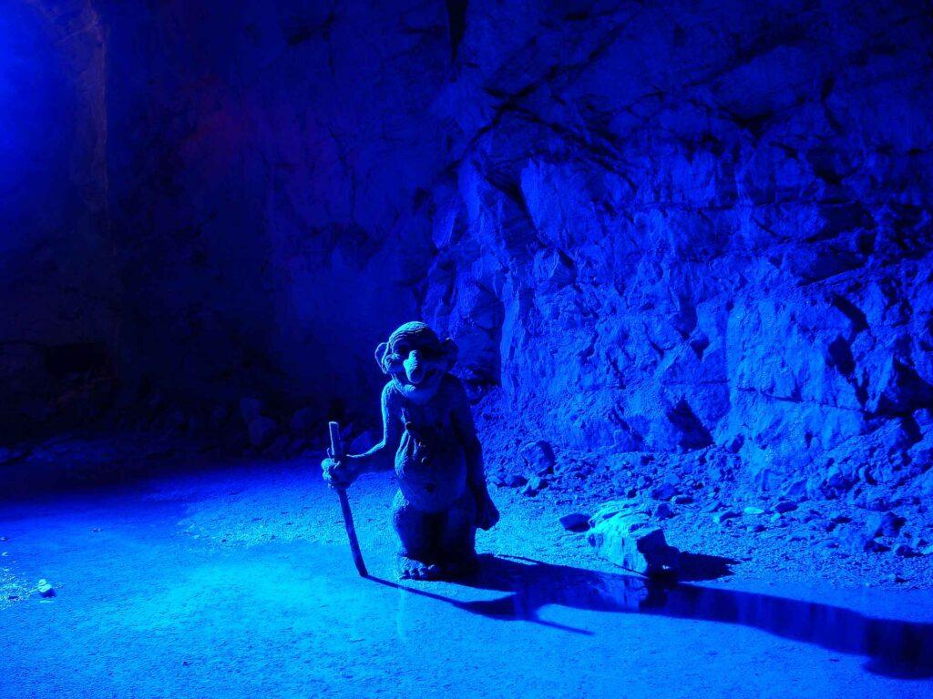 Gudvangen Büyülü Beyaz Mağara