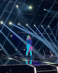 IMERIKA Eurovision ön elemelerinde.