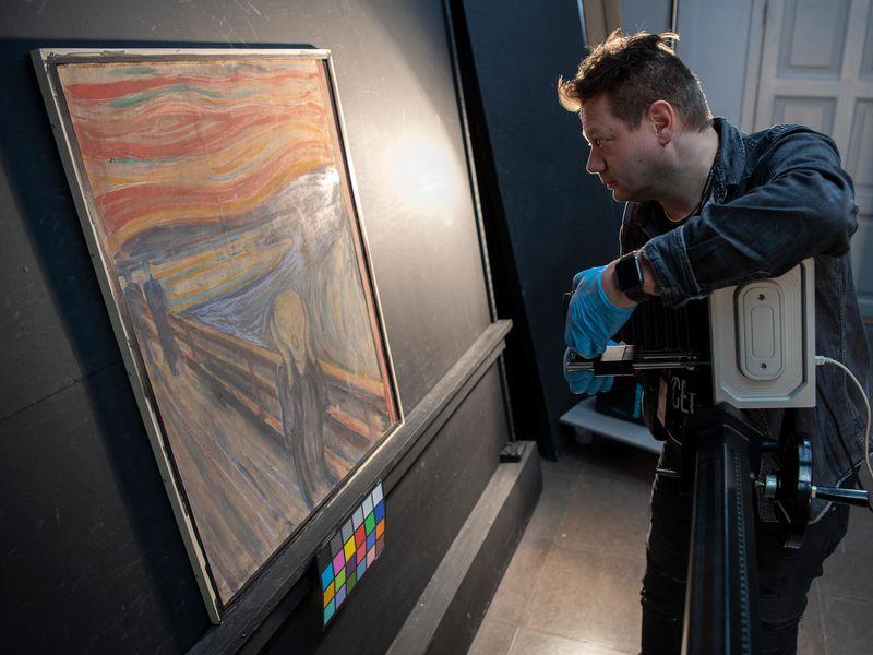 Edvard Munch: Edvard Munch: Çığlık Tablosundaki Esrarengiz Grafiti